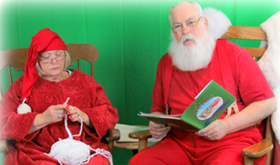 Santa and Mrs. Claus 2